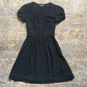 Betsey Johnson Hook and Eye Little Black Dress 2